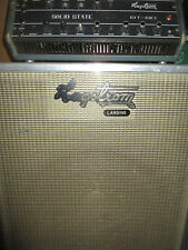 70's Hagstrom BT 80 amp & CAB-MADE IN SWEDEN