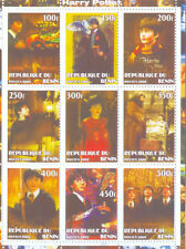 Harry Potter mnh sheet of 9-