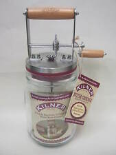 New Kilner Glass Hand Home Made Butter Churner Buttermilk Maker 0025.348