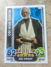STAR WARS Force Awakens - Force Attax Trading Card #005 Obi-Wan Kenobi
