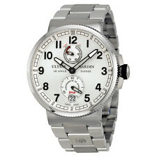 Ulysse Nardin Marine Silver Dial Stainless Steel Automatic Mens Watch