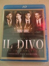IL DIVO An Evening With Live In Barcelona Concert Blu Ray Classical Music