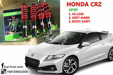 CRZ ZF1 D7 JAPAN Adjustable Coilover High Low Soft Hard 3Step