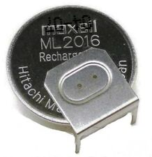 Maxell ML2016, 3v Rechargeable Lithium battery - PCB Mount ( 28E087 )