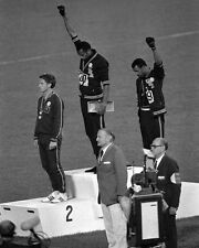 1968 Olympics TOMMIE SMITH Glossy 8x10 Photo USA Print Black Power Poster Mexico