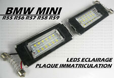 AMPOULES LEDS PLAQUE IMMATRICULATION BLANC XENON BMW MINI ONE COOPER S R56 06-10