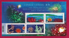 Canada  # 1951B  SOUVENIR SHEET   2002    CORALS    VF NH   Post Office Fresh