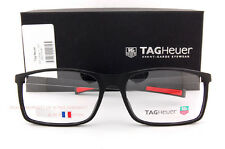 Brand New TAG Heuer Eyeglass Frames URBAN 7 0517 001 Matte Black/Red  Men SZ 58
