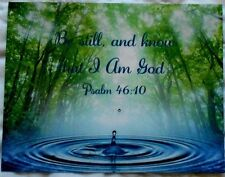 Bible Verse Be Still Know I Am God Refrigerator Magnet Nice Gift To Mail Psalm