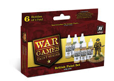 Vallejo WW2 Wargames British Infantry paint set 70153