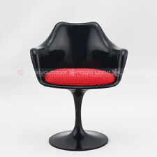 Mini Tulip Armchair Chair Furniture Barbie Blythe Dollhouse Miniature 1:6 Black