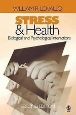 Stress and Health: Biological and Psychological Interactions (BEHAVIOR-ExLibrary