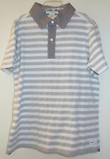NWT Janie and Jack Shark Watcher Gray Stipe Shirt Boy's Size 8