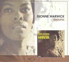 Dionne Warwick CD Soulful Plus Rhino OOP no slip case