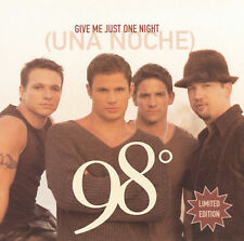Give Me Just One Night [CD] [Single] by 98° (CD, Sep-2000, Universal...