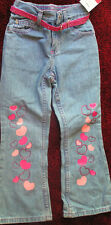 SONOMA GIRLS SIZE 6 JEANS WITH BELT NEW WITH TAGS FREE SHIPPING