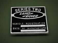 Land Rover Series Two Schild Emblem 90, 110 Defender