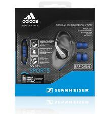 New Sennheiser OCX 685i Sports In-Ear canal Headphones Smart Remote with Mic  UK