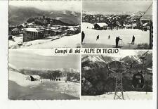 79372 CAMPI DI SKI ALPE DI TEGLIO SCIATORI E FUNIVIA