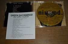 GREEN DAY NIMROD JAPAN MINT CD clash stranglers punk sum 41 blink182 nofx rancid