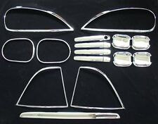 MERCEDES ML CHROME ACCESSORIE GROUP SET ,W163, 98 - 03 .