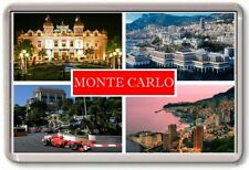 FRIDGE MAGNET - MONTE CARLO - Large - Monaco TOURIST