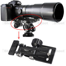 Long-Focus Lens Bracket Support for Camera Quick Release Plate Tripod Mount Ring