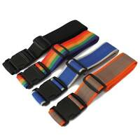 Adjustable Quick Release Buckle Nylon Luggage Suitcase Packing Strap Belt Travel