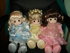 "Retired Precious Moments TRIO of ANGELS - 16"" Dolls/Spirit Collection"