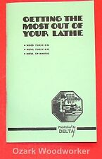 DELTA Getting the Most Out of Your Lathe Manual 0215