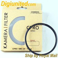 Camdiox 18 layer 49mm C-Pro Nano Slim Multi-Coated MC SMC UV filter for DSLR Cam