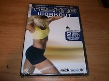Ultra Techno Workout 2 (DVD SET 2004) Health Diet Physical Fitness M2K Music NEW
