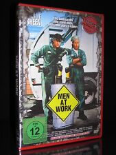 DVD MEN AT WORK - ACTION CULT 39 - UNCUT - CHARLIE SHEEN + EMILIO ESTEVEZ - MAN
