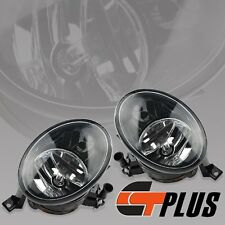 FOR 11-14 VW MK6 GOLF JETTA 12-13 TIGUAN FRONT CLEAR FOG LIGHT DRIVING LAMP PAIR