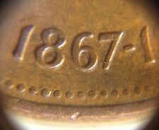 1967 1 cent Canada Error Coin Doubling Die Date! Centennial Penny Rare Coin!