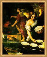 Die Küche der Engel, Ausschnitt 2 Murillo Sankt Heilige Sevilla LW H A2 0210
