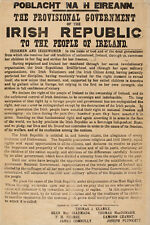 "1916 Proclamation of the Irish Republic 20""x30"" - Reproduction"