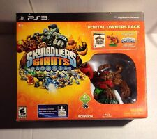 BRAND NEW Sealed Skylanders Giants Portal Owners Pack PS3 w/Game Tree Rex Figure