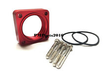 Billet Aluminum Red Throttle Body Spacer for 93-97 98-01 Nissan Altima 2.4L