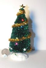 Dollhouse Miniature Traditional Christmas Tree  1:12 1 inch scale  F4
