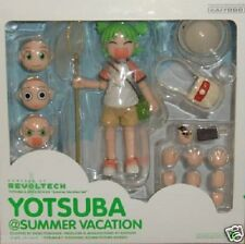 Used Kaiyodo Revoltech DX Yotsuba&! Yotsubato! Summer Vacation Set
