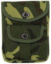 2 Pocket Canvas Ammo Pouch - Camouflage 9802