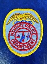 MEMPHIS, TENNESSEE POLICE SHOULDER PATCH TN 2