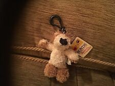 BOYDS BEARS & FRIENDS LIL GUS GOOFY GOMER SOFT TOY KEY CLASP KEYRING SOFT TOY