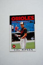 Orioles, Cal Ripken, ss, 1986 Topps Baseball Card, 340