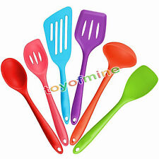 Kitchen Utensils Non-Stick Cookware Silicone Cooking Set 6-Piece