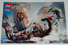 Lego Viking Ship challenges the Migard Serpent 7018 inkl. OBA (ohne Box)
