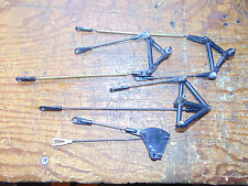 HEIM ELEVATOR, AILERON & THROTTLE CONTROLS C/W LINKAGES FOR SCALE FUSELAGE