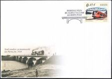 Estonia 2012 Trains/Locomotives/Rail/Railway Bridges/Transport 1v FDC (ee1003)