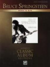 Bruce Springsteen: Born to Run  Songbook Sheet Music Song Book